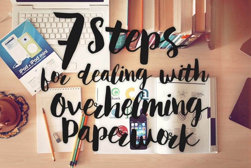 dealing with paperwork blurt depression anxiety overwhelm